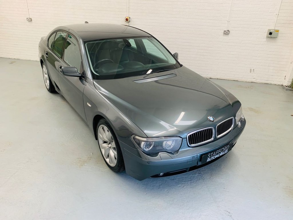 USED 2004 M BMW 7 SERIES 3.0 730I SPORT 4d 228 BHP STUNNING CAR THROUGHOUT