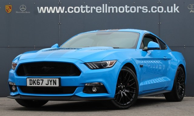 2017 67 FORD MUSTANG 5.0 GT 2d 410 BHP [ BLACK SHADOW EDITION STYLING ]