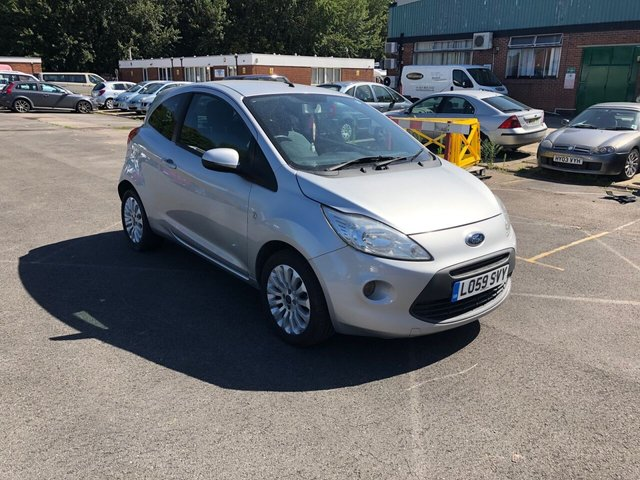USED 2010 59 FORD KA 1.2 ZETEC 3d 69 BHP