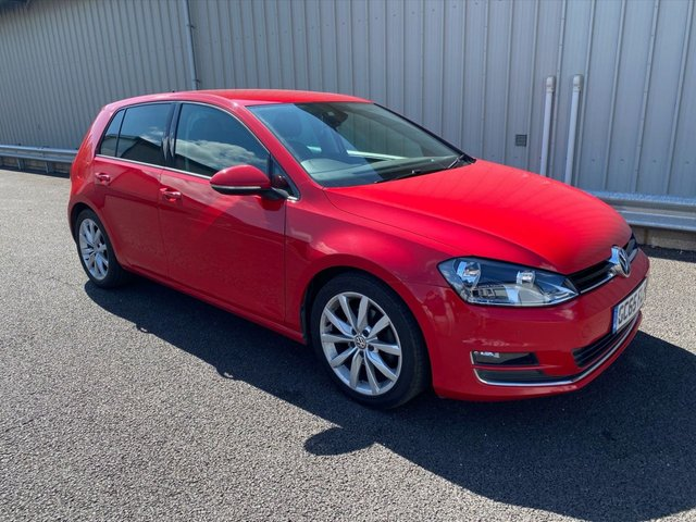 2016 65 VOLKSWAGEN GOLF 1.4 GT TSI ACT BLUEMOTION TECHNOLOGY 5d 150 BHP PETROL