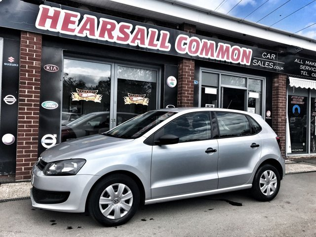 USED 2013 13 VOLKSWAGEN POLO 1.2 S A/C 5d 60 BHP