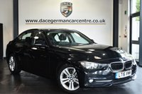 "USED 2016 16 BMW 3 SERIES 2.0 320D ED SPORT 4DR AUTO 161 BHP Finished in a stunning sapphire metallic black styled with 17"" alloys. Upon opening the drivers door you are presented with full leather interior, full service history, satellite navigation, bluetooth, heated seats, DAB radio, Automatic air conditioning, rain sensors, Light package, parking sensors"
