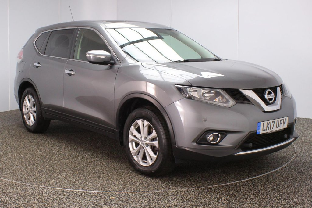 USED 2017 17 NISSAN X-TRAIL 1.6 DCI ACENTA 5DR 1 OWNER 130 BHP FULL SERVICE HISTORY + PANORAMIC ROOF + 7 SEATS + PARKING SENSOR + BLUETOOTH + CRUISE CONTROL + CLIMATE CONTROL + MULTI FUNCTION WHEEL + RADIO/CD/AUX/USB + PRIVACY GLASS + ELECTRIC WINDOWS + ELECTRIC/HEATED/FOLDING DOOR MIRRORS + 17 INCH ALLOY WHEELS