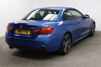 USED 2016 16 BMW 4 SERIES 3.0 435D XDRIVE M SPORT 2d AUTO 309 BHP Finished in stunning metallic Estoril Blue + 19 inch diamond cut alloys + black leather interior + Pro Sat Nav + Heated Electric Memory Seats + Full Service history + Harman / Kardon Audio + Cruise control + Bluetooth + DAB Radio + In car entertainment - CD / AUX / USB + Start / stop + Air con + Dual climate control + Electric mirrors + Electric windows + Front / rear parking sensors + Auto lights / wipers + Multi function steering wheel + 1 Owner from new + ULEZ EXEMPT