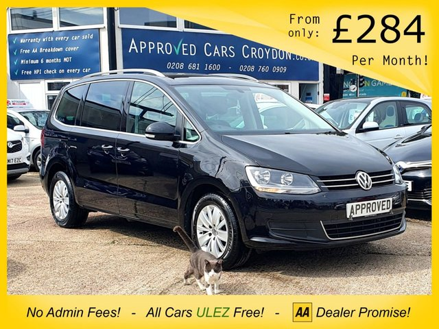 USED 2017 17 VOLKSWAGEN SHARAN 2.0 SE TDI BLUEMOTION TECHNOLOGY DSG 5d 148 BHP
