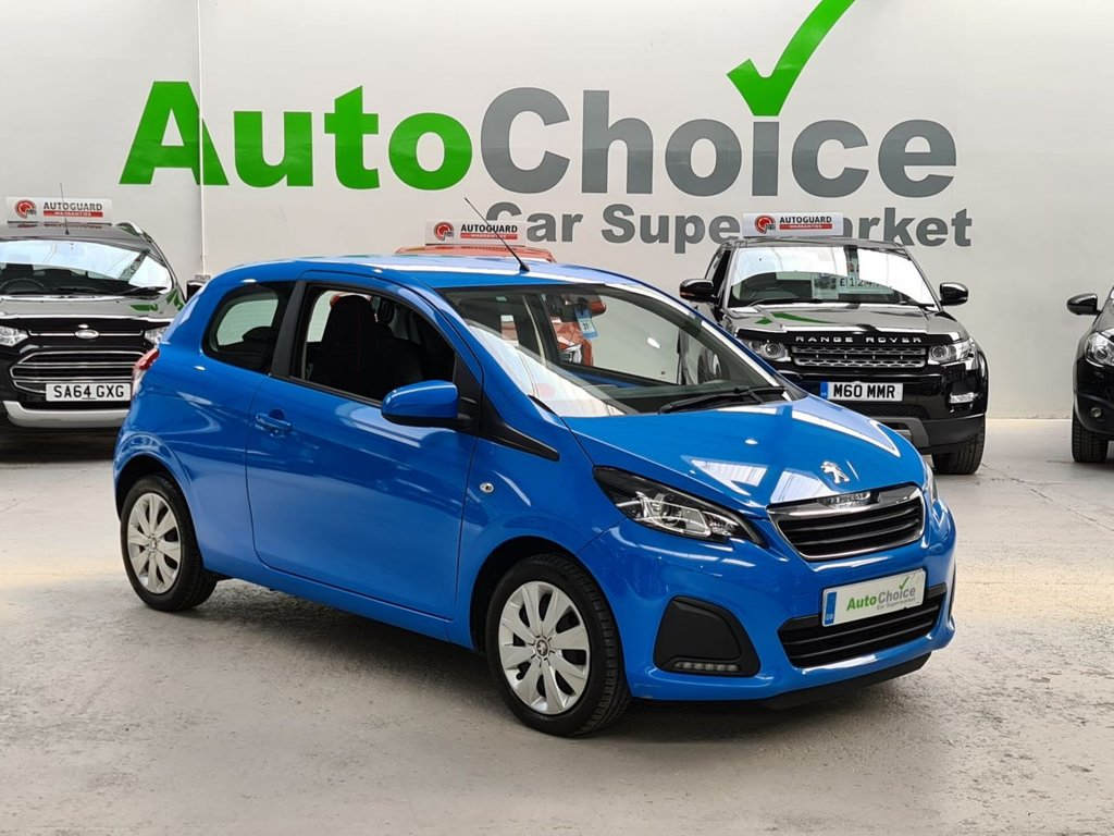 USED 2017 67 PEUGEOT 108 1.0 ACTIVE 3d 68 BHP *LOW INSURANCE*