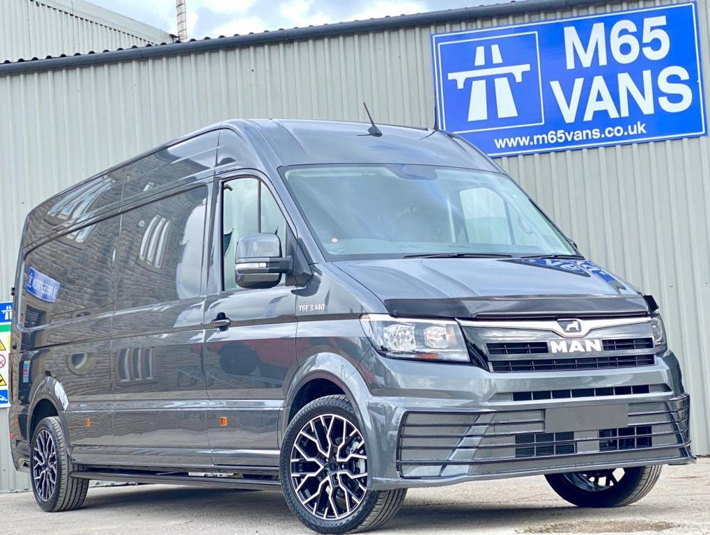 USED 2020 MAN TGE LONG WHEELBASE SPORTLINE STYLED 140 AIR CON - SAT NAV - CAMERA