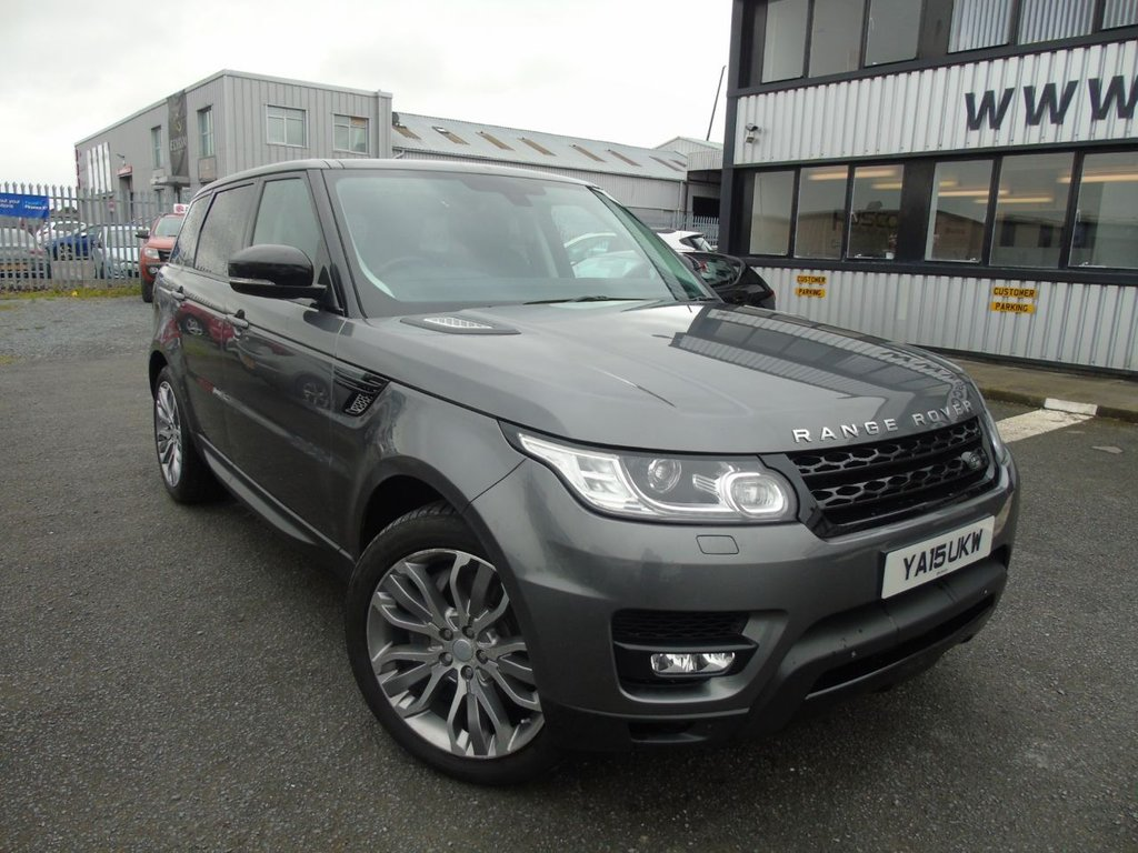 USED 2015 F LAND ROVER RANGE ROVER SPORT 3.0 SDV6 HSE DYNAMIC 5d 306 BHP £418 a month, T&Cs apply.