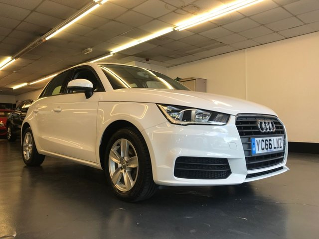 USED 2016 66 AUDI A1 1.0 SPORTBACK TFSI SE 5d 93 BHP 1 OWNER FROM NEW, PLATINUM RAC WARRANTY