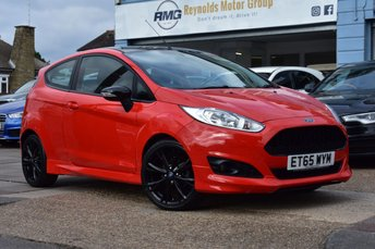 2016 FORD FIESTA 1.0 ZETEC S RED EDITION 3d 139 BHP £8499.00
