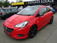 USED 2017 66 VAUXHALL CORSA 1.4 LIMITED EDITION ECOFLEX 3d 89 BHP AIR/CON, DAB, BLUETOOTH, 1.4 ENGINE, LOW MILES....