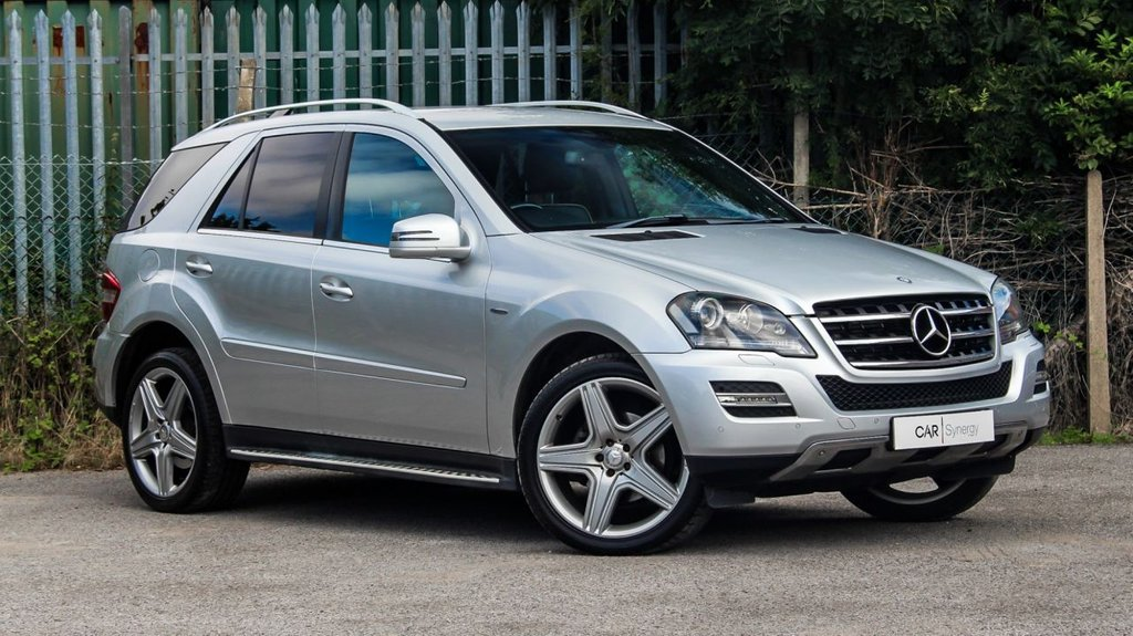 USED 2011 61 MERCEDES-BENZ M-CLASS 3.0 ML300 CDI BLUEEFFICIENCY GRAND EDITION 5d 204 BHP