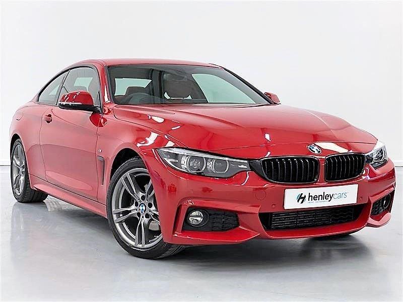 USED 2017 17 BMW 4 SERIES 2.0 420D M SPORT