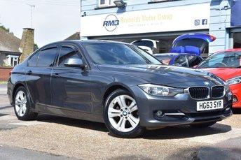 2013 BMW 3 SERIES 2.0 318D SPORT AUTOMATIC 4d 141 BHP £9999.00