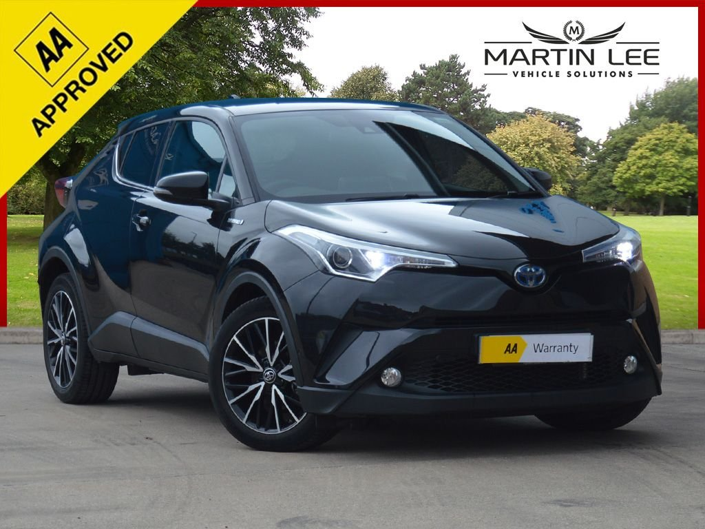 USED 2017 66 TOYOTA CHR 1.8 EXCEL 5d 122 BHP STUNNING LOW MILEAGE SUV AUTOMATIC HYBRID