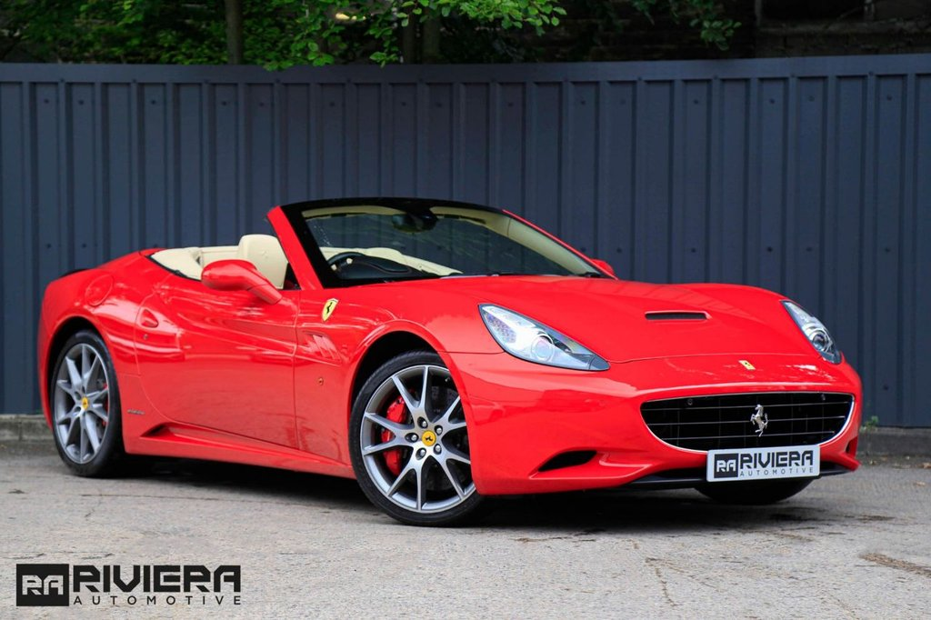 USED 2011 11 FERRARI CALIFORNIA 4.3 2 PLUS 2 2d 460 BHP