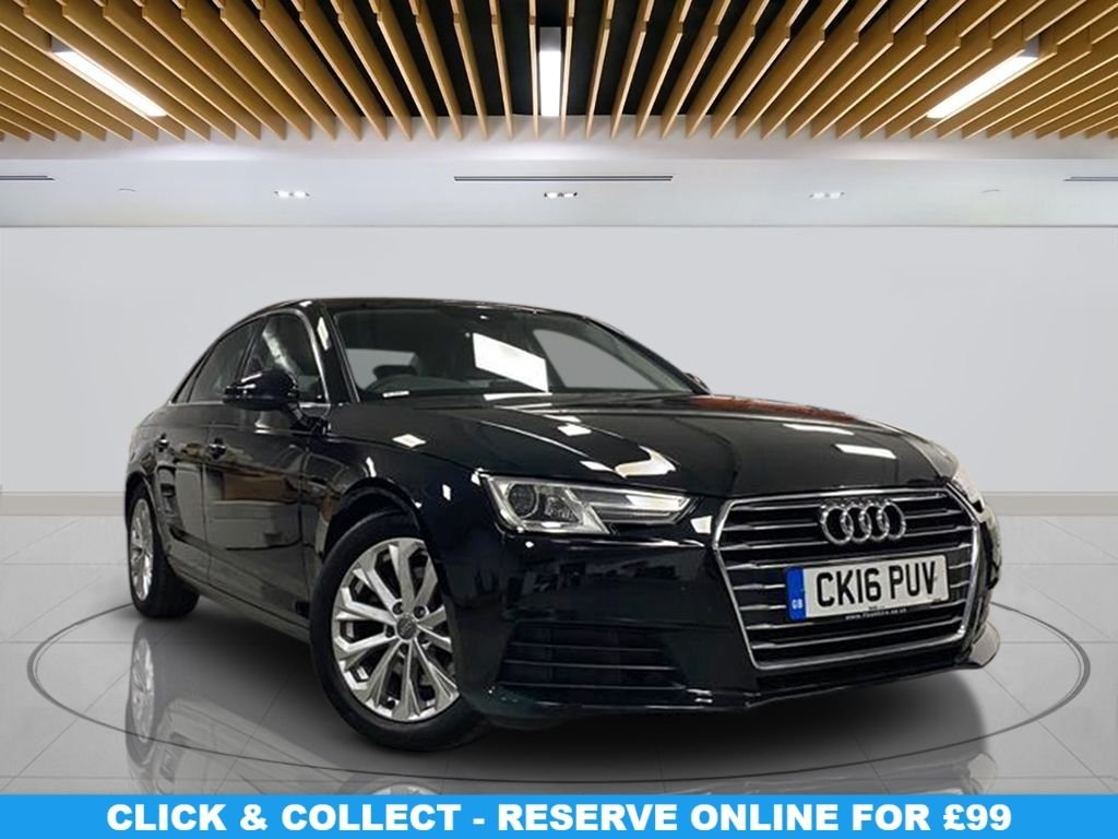 USED 2016 16 AUDI A4 2.0 TDI 4d 148 BHP | NO ULEZ CHARGES Automatic Transmission, Navigation System, Alloy Wheels, Parking Sensor(s), Climate Control