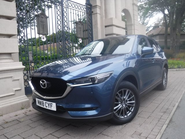 USED 2018 18 MAZDA CX-5 2.2 D SE-L NAV 5d 148 BHP *** FINANCE & PART EXCHANGE WELCOME *** SAT/NAV FRONT & REAR PARKING SENSORS BLUETOOTH PHONE CRUISE CONTROL DAB RADIO