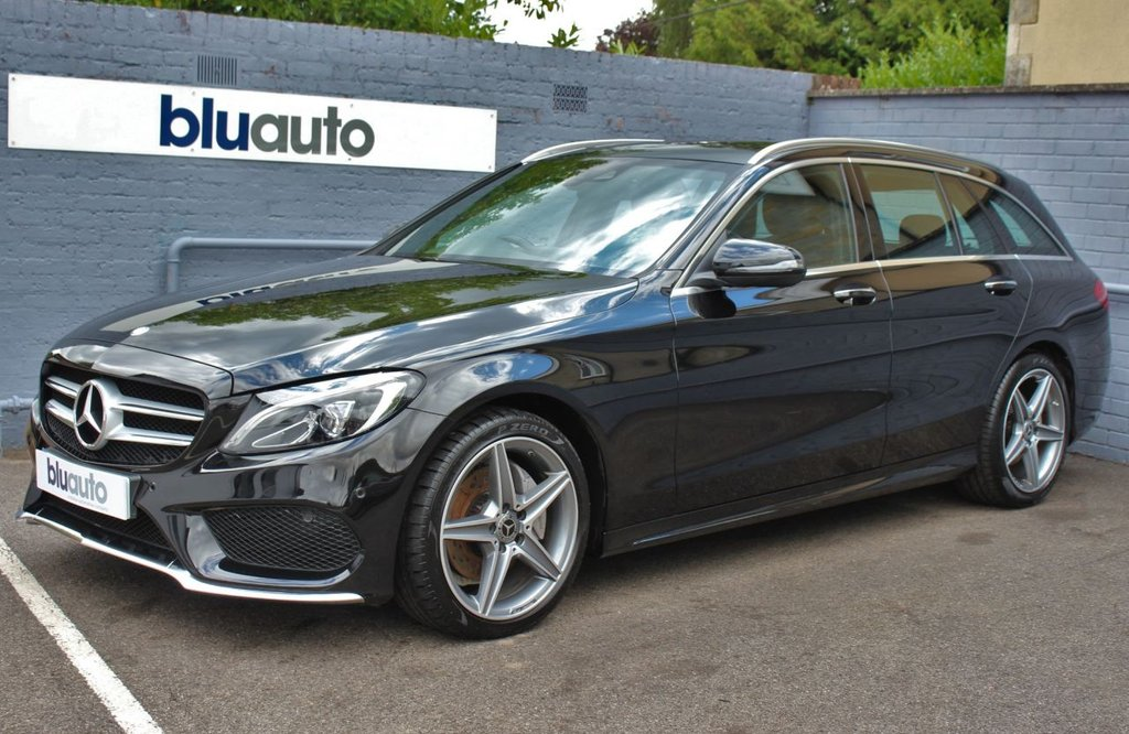 USED 2017 17 MERCEDES-BENZ C-CLASS 2.1 C 220 D AMG LINE PREMIUM 5d 170 BHP 1 Owner, Mercedes Service History, Huge Range of Specification