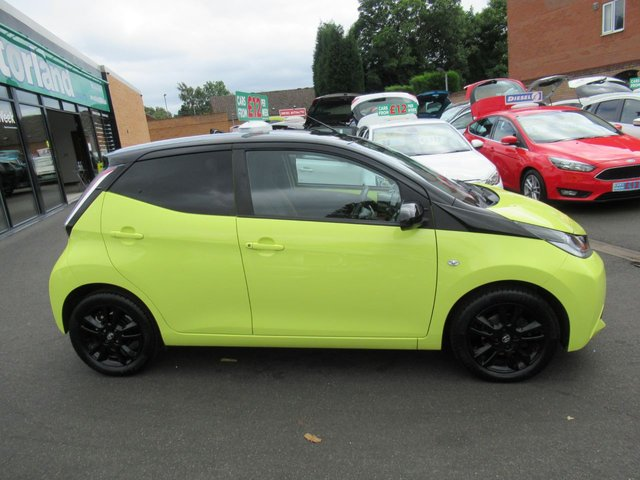 USED 2017 66 TOYOTA AYGO 1.0 VVT-I X-CITE 3 5d 69 BHP CALL 01543 379066... 12 MONTHS MOT... 6 MONTHS WARRANTY... FREE ROAD TAX