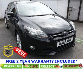 USED 2012 12 FORD FOCUS 1.6 ZETEC TDCI 5d 113 BHP *CLICK & COLLECT OR DELIVERY *