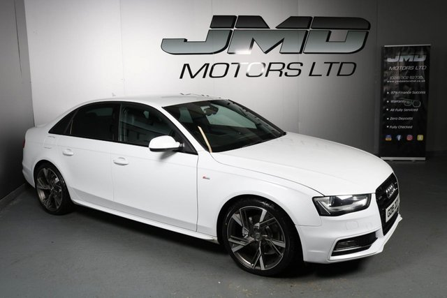 USED 2015 15 AUDI A4 2015 AUDI A4 2.0 TDI S LINE BLACK EDITION STYLE AUTO 148 BHP (FINANCE AND WARRANTY)