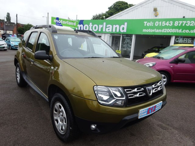 USED 2017 17 DACIA DUSTER 1.5 AMBIANCE DCI 5d 109 BHP **JUST ARRIVED ...FULL SERVICE HISTORY ...ONLY 3,000MILES FROM NEW !!