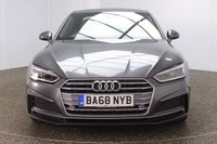 USED 2019 68 AUDI A5 2.0 TDI S LINE 2DR 1 OWNER AUTO 188 BHP FULL SERVICE HISTORY + HEATED HALF LEATHER SEATS + SATELLITE NAVIGATION + PARKING SENSOR + BLUETOOTH + CRUISE CONTROL + CLIMATE CONTROL + MULTI FUNCTION WHEEL + XENON HEADLIGHTS + DAB RADIO + ELECTRIC FRONT SEATS + ELECTRIC WINDOWS + ELECTRIC/HEATED/FOLDING DOOR MIRRORS + 19 INCH ALLOY WHEELS