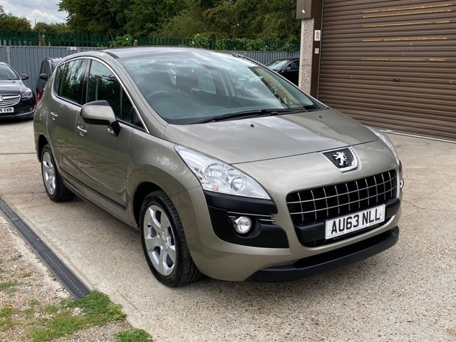 USED 2013 63 PEUGEOT 3008 1.6 HDI ACTIVE 5d 115 BHP TWO OWNERS + SERVICE HISTORY