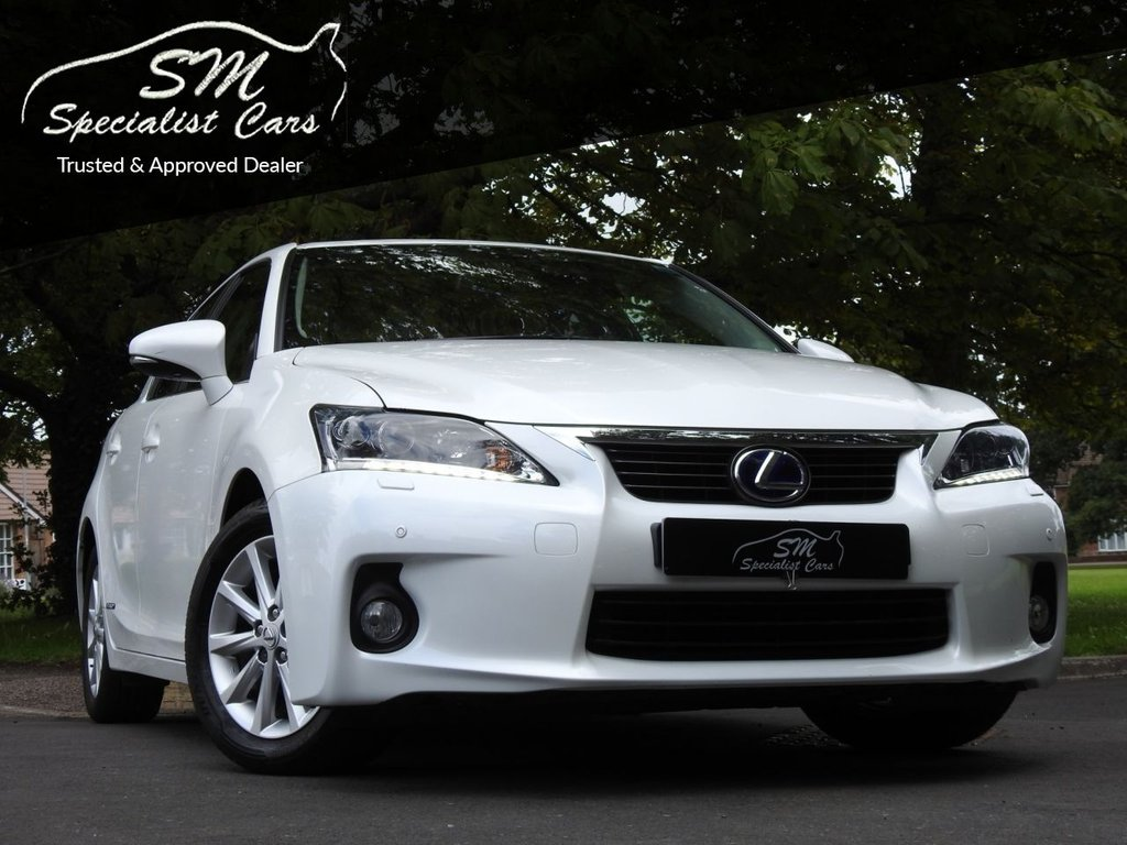 USED 2012 12 LEXUS CT 1.8 200H SE-L PREMIER 5d 136 BHP ONLY 23K FROM NEW LEATHER A/C