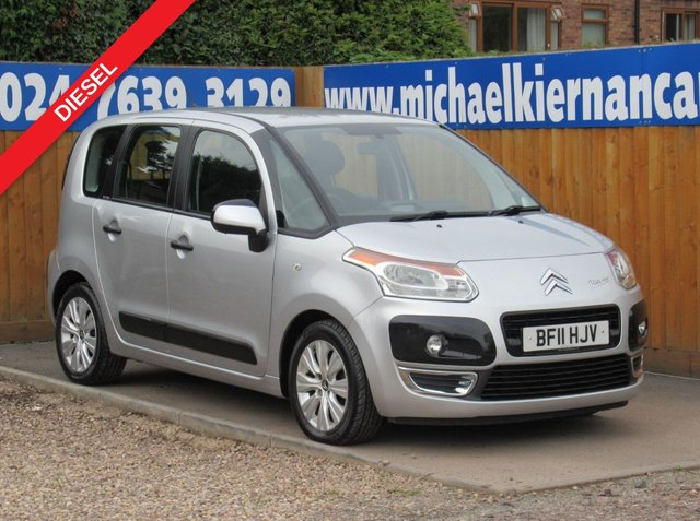 USED 2011 11 CITROEN C3 PICASSO 1.6 PICASSO VTR PLUS HDI  5d 90 BHP CLEAN LITTLE CAR