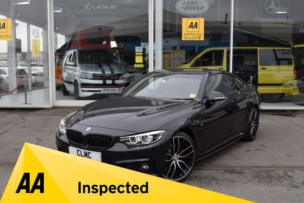 USED 2018 18 BMW 4 SERIES 3.0 435D XDRIVE M SPORT 2d 309 BHP FINANCE TODAY WITH NO DEPOSIT - BMW WARRANTY TO MAY 2021