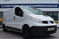 USED 2012 12 RENAULT TRAFIC 2.0 LL29 DCI S/R 0d 115 BHP NO DEPOSIT FINANCE AVAILABLE