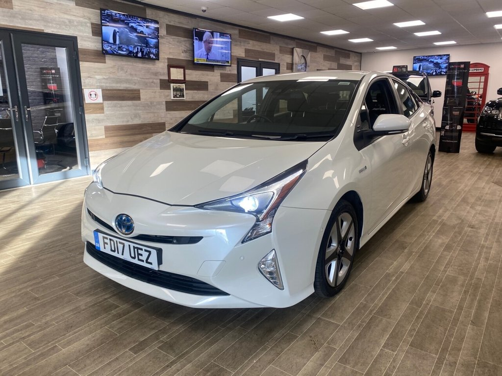 USED 2017 17 TOYOTA PRIUS 1.8 VVT-I BUSINESS EDITION PLUS 5d 97 BHP ELECTRIC FREE HOME DELIVERY CONTACTLESS CALL US ON 07785902621 AFTERHOURS