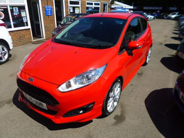 2015 15 FORD FIESTA 1.0 ZETEC S ECOBOOST (125PS) 3DR