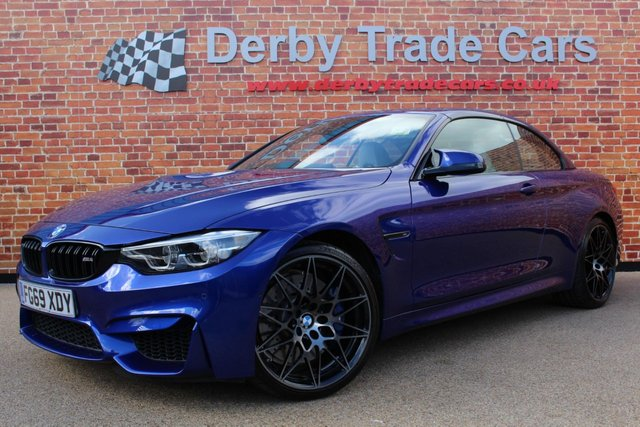 BMW M4 at Derby Trade Cars