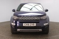 USED 2016 16 LAND ROVER DISCOVERY SPORT 2.0 TD4 HSE LUXURY 5DR 1 OWNER AUTO 180 BHP FULL LAND ROVER SERVICE HISTORY + 7 SEATS + HEATED FRONT/REAR LEATHER SEATS + PANORAMIC ROOF + SATELLITE NAVIGATION + REVERSE CAMERA + ACTIVE PARK ASSIST + PARKING SENSOR + BLUETOOTH + CRUISE CONTROL + CLIMATE CONTROL + MULTI FUNCTION WHEEL + XENON HEADLIGHTS + LANE ASSISST SYSTEM + HEATED STEERING WHEEL + ELECTRIC/MEMORY FRONT SEATS + DAB RADIO + ELECTRIC WINDOWS + ELECTRIC/HEATED/FOLDING DOOR MIRRORS + 20 INCH ALLOY WHEELS