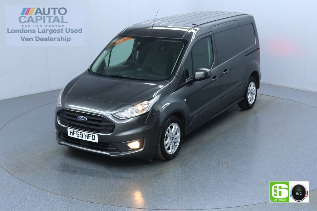 USED 2019 69 FORD TRANSIT CONNECT 1.5 240 Limited 120 BHP Auto L2 LWB 3 Seats Euro 6 Low Emission Finance Available Online | Keyless | Auto Start-Stop system