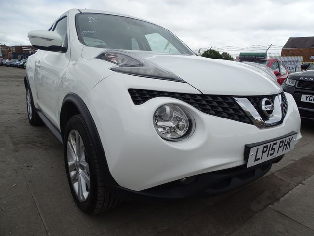 USED 2015 15 NISSAN JUKE 1.5 ACENTA DCI 5d LONG WARRANTY INCLUDED