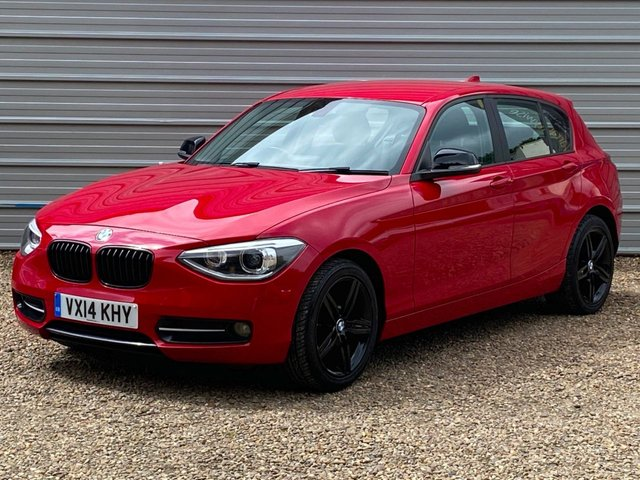 USED 2014 14 BMW 116i SPORT 1.6 116i SPORT 5dr 135BHP £2000 of Options with Xenons