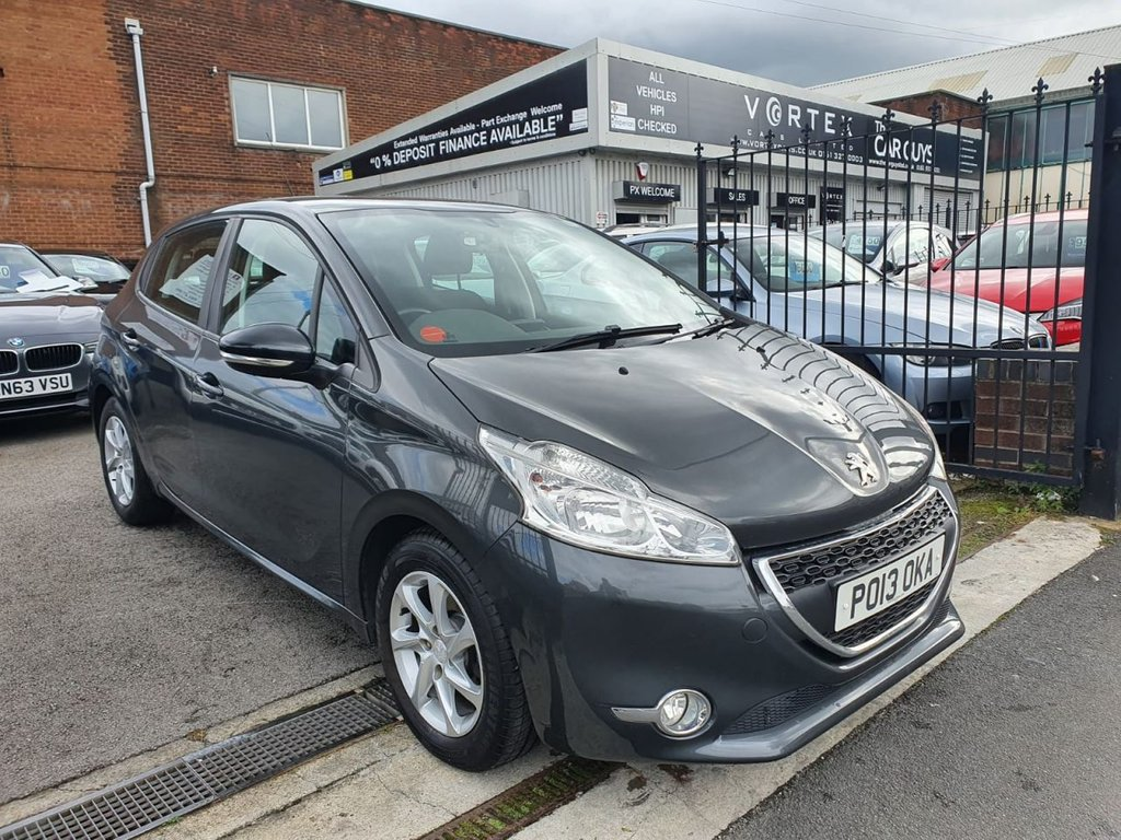 USED 2013 13 PEUGEOT 208 1.2 ACTIVE 5d 82 BHP 12 MONTH MOT + GREAT HISTORY
