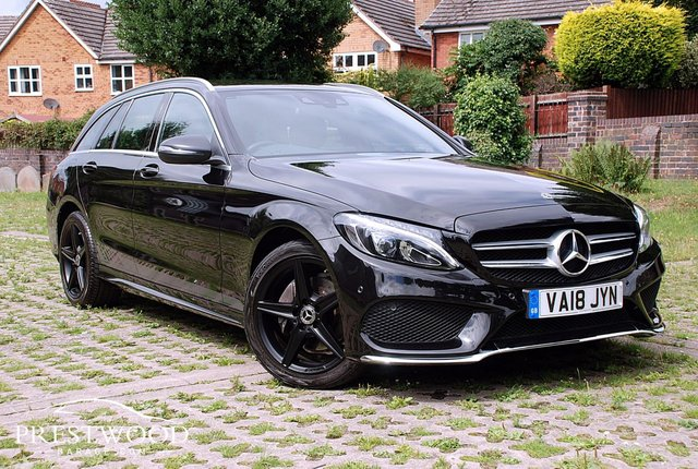 2018 18 MERCEDES-BENZ C-CLASS C220d 4MATIC NIGHTFALL EDITION [170 BHP] 5 DOOR ESTATE