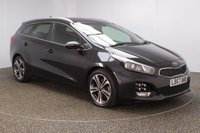 USED 2018 67 KIA CEED 1.6 CRDI GT-LINE ISG 5DR 134 BHP FULL SERVICE HISTORY + SATELLITE NAVIGATION + REVERSE CAMERA + PARKING SENSOR + BLUETOOTH + CRUISE CONTROL + CLIMATE CONTROL + DAB RADIO + PRIVACY GLASS + XENON HEADLIGHTS + ELECTRIC WINDOWS + ELECTRIC/FOLDING DOOR MIRRORS + 17 INCH ALLOY WHEELS
