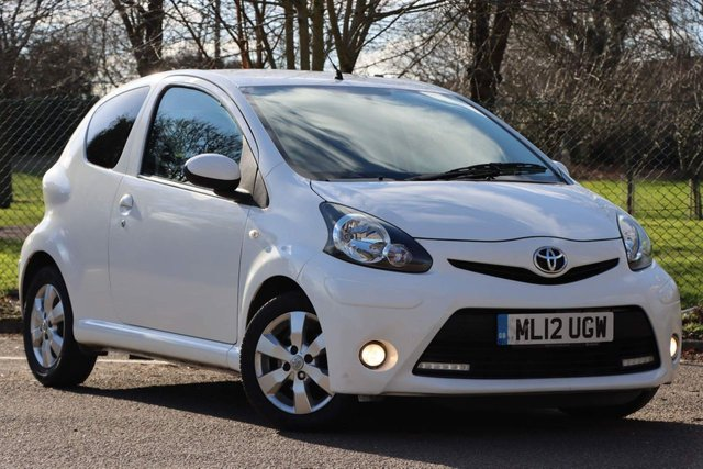 USED 2012 12 TOYOTA AYGO 1.0 VVT-i Fire 3dr £0 ROAD TAX