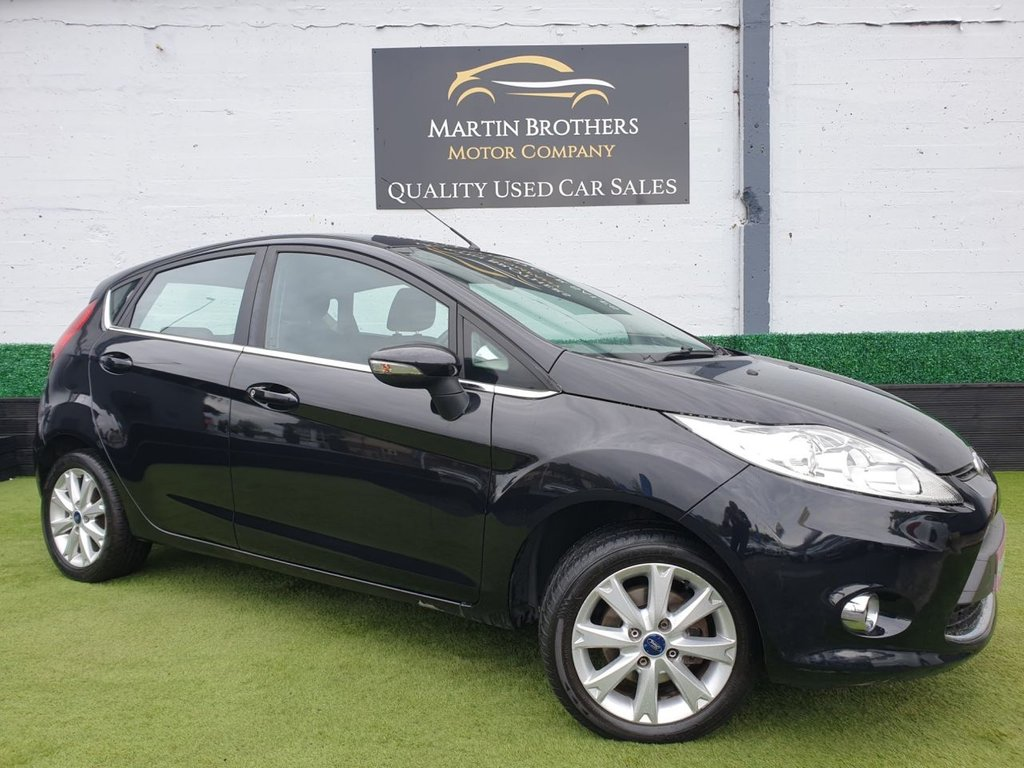 USED 2009 FORD FIESTA 1.25 Zetec 5dr [82]