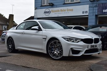 2017 BMW M4 3.0 M4 COMPETITION PACKAGE CONVERTIBLE DCT AUTOMATIC 2d 444 BHP £39999.00