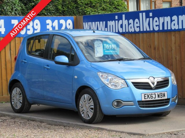 USED 2013 63 VAUXHALL AGILA 1.2 S AC 5d 93 BHP LOVELY CAR