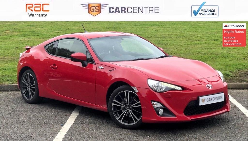 USED 2014 14 TOYOTA GT86 2.0 D-4S 2dr Sat Nav + Cruise + Low Mileage
