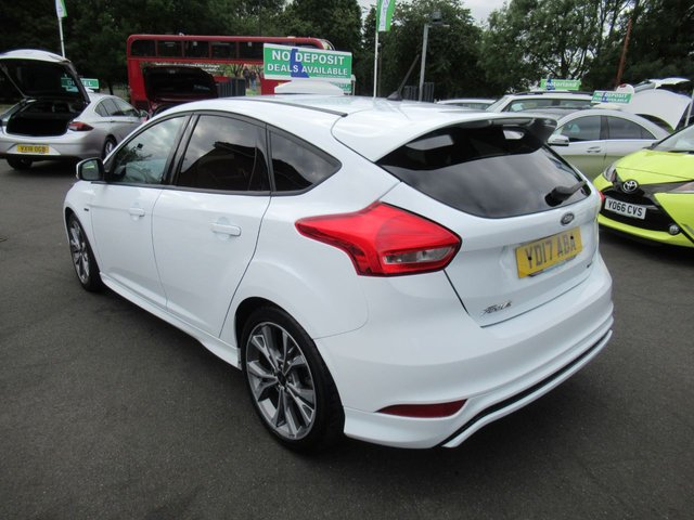 USED 2017 17 FORD FOCUS 1.0 ST-LINE 5d 124 BHP ***JUST ARRIVED...TEST DRIVE TODAY***NO DEPOSIT DEALS