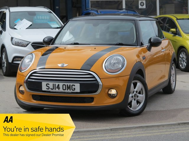 USED 2014 14 MINI HATCH COOPER 1.5 COOPER 3d 134 BHP